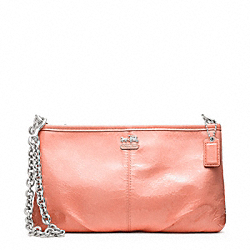 COACH MADISON PATENT LARGE WRISTLET WITH CHAIN - ONE COLOR - F48459
