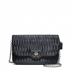 COACH MADISON PLEATED SATIN CLUTCH - ONE COLOR - F48493