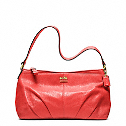 COACH MADISON TOP HANDLE IN LEATHER - ONE COLOR - F48551