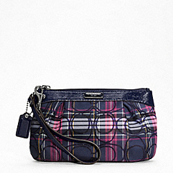 TARTAN MEDIUM PLEATED WRISTLET