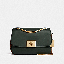 LARGE CASSIDY CROSSBODY - IVY/IMITATION GOLD - COACH F48627