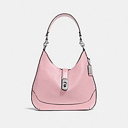 AMBER HOBO - CARNATION/SILVER - COACH F48635