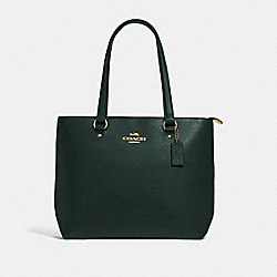 BAY TOTE - IVY/IMITATION GOLD - COACH F48637