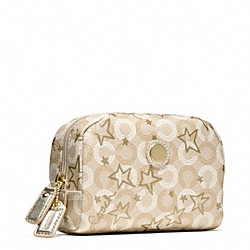 COACH WAVERLY SNOW QUEEN SMALL COSMETIC CASE - ONE COLOR - F48676