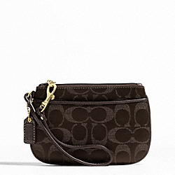 METALLIC SIGNATURE SMALL WRISTLET