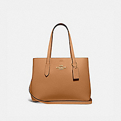 AVENUE CARRYALL - IM/LIGHT SADDLE BLACK - COACH F48733