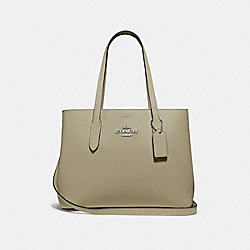AVENUE CARRYALL - LIGHT CLOVER/LIGHT SADDLE/SILVER - COACH F48733