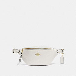 BELT BAG - CHALK/IMITATION GOLD - COACH F48738
