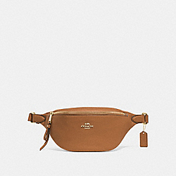 BELT BAG - LIGHT SADDLE/IMITATION GOLD - COACH F48738