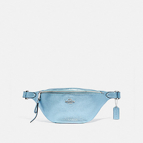 COACH BELT BAG - METALLIC ICE/SILVER - F48739