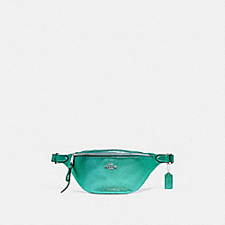 BELT BAG - METALLIC SEA GREEN/SILVER - COACH F48739