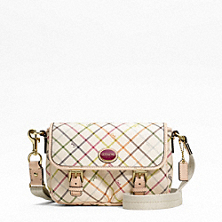 COACH PEYTON TATTERSALL FIELD BAG - ONE COLOR - F48758