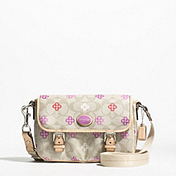COACH PEYTON SIGNATURE CLOVER FIELD BAG - ONE COLOR - F48828