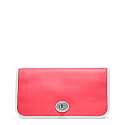 COACH ARCHIVE TWO TONE UTILITY CLUTCH - ONE COLOR - F48873