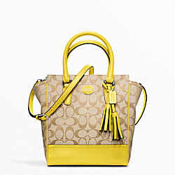 COACH SIGNATURE MINI TANNER - ONE COLOR - F48879