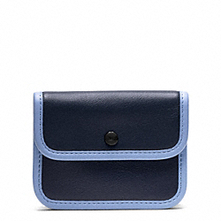 COACH ARCHIVE TWO TONE CARD CASE - ONE COLOR - F48889