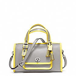 COACH ARCHIVE TWO TONE MINI SATCHEL - ONE COLOR - F48896