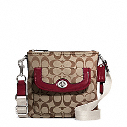 COACH PARK SIGNATURE SWINGPACK - ONE COLOR - F49148
