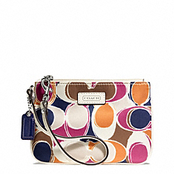 COACH PARK HAND DRAWN SCARF PRINT SMALL WRISTLET - ONE COLOR - F49166