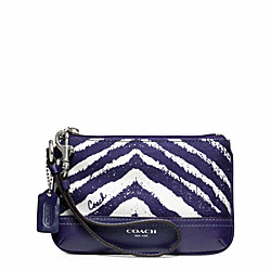 COACH ZEBRA PRINT SMALL WRISTLET - ONE COLOR - F49221