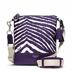 COACH ZEBRA PRINT SWINGPACK - ONE COLOR - F49222