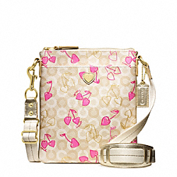 COACH WAVERLY CHERRY SWINGPACK - ONE COLOR - F49248