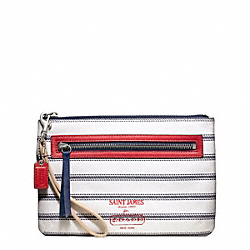 COACH WEEKEND SAINT JAMES NOVELTY WRISTLET - ONE COLOR - F49266
