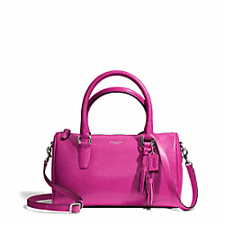 COACH LEATHER MINI SATCHEL - ONE COLOR - F49292