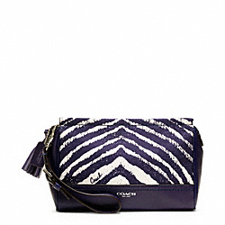 COACH ZEBRA LARGE WRISTLET - ONE COLOR - F49321