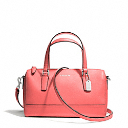 COACH SAFFIANO LEATHER MINI SATCHEL - ONE COLOR - F49392