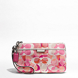 COACH DAISY KALEIDESCOPE PRINT MEDIUM WRISTLET - ONE COLOR - F49445