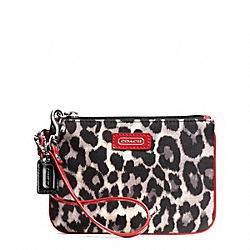 COACH PARK OCELOT PRINT SMALL WRISTLET - ONE COLOR - F49466
