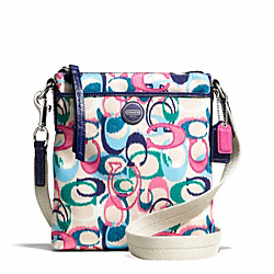 COACH SIGNATURE STRIPE IKAT PRINT SWINGPACK - ONE COLOR - F49495