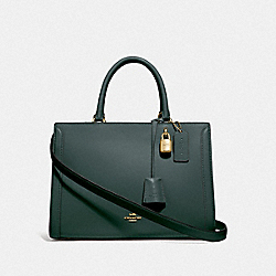 ZOE CARRYALL - IM/EVERGREEN - COACH F49500