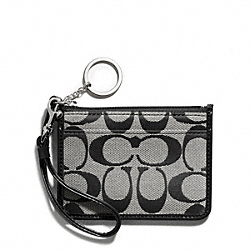 COACH PARK SIGNATURE ID SKINNY - ONE COLOR - F49537