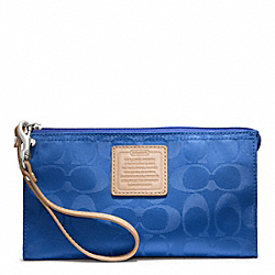 COACH LEGACY WEEKEND NYLON ZIPPY WALLET - ONE COLOR - F49546