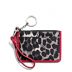 COACH PARK OCELOT PRINT ID SKINNY - ONE COLOR - F49575