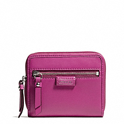 COACH DAISY LEATHER MEDIUM ZIP AROUND - ONE COLOR - F49576