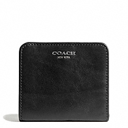 COACH LEATHER SMALL WALLET - ONE COLOR - F49652