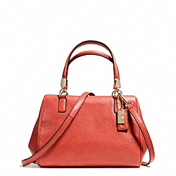 MADISON LEATHER MINI SATCHEL - f49720 - 24991