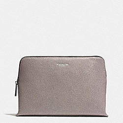 COACH COSMETIC CASE IN SAFFIANO LEATHER - QBD0C - F49748