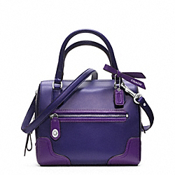 COACH POPPY COLORBLOCK LEATHER MINI SATCHEL - ONE COLOR - F49757