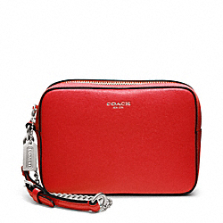 COACH SAFFIANO LEATHER FLIGHT WRISTLET - ONE COLOR - F49790