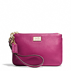 COACH MADISON LEATHER SMALL WRISTLET - ONE COLOR - F49799