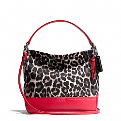 COACH PARK OCELOT PRINT MINI DUFFLE CROSSBODY - ONE COLOR - F49824