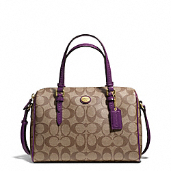 PEYTON SIGNATURE BENNETT MINI SATCHEL - f49862 - 20111