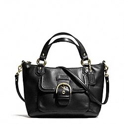 COACH CAMPBELL LEATHER MINI TOTE CROSSBODY - ONE COLOR - F49882