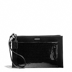 OCCASION SEQUIN PARTY CLUTCH COACH F49887