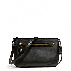 COACH POPPY LEATHER EAST/WEST SWINGPACK - ONE COLOR - F49970