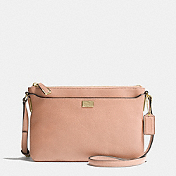 MADISON SWINGPACK IN LEATHER - f49992 -  LIGHT GOLD/ROSE PETAL